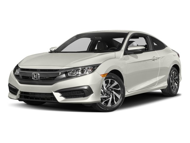 2017 Honda Civic Coupe Pictures Lx Cvt Photos Side Front View