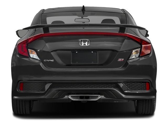 2017 Honda Civic Coupe Base Price Si Manual Pricing Rear View