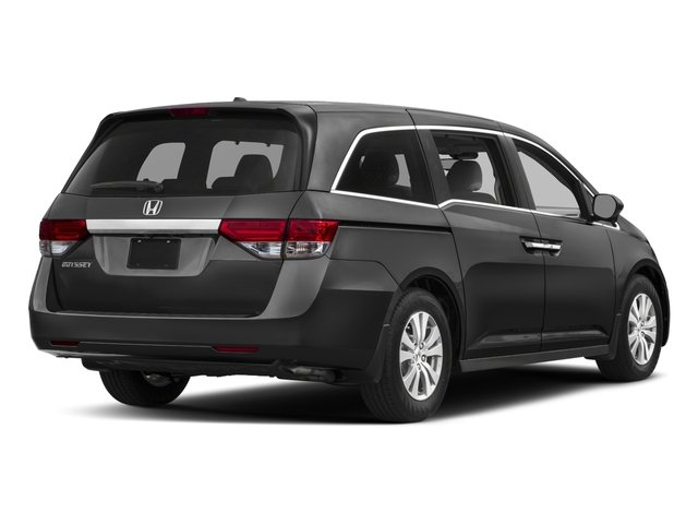 2017 Honda Odyssey Pictures Wagon 5d Ex L V6 Photos Side Rear View