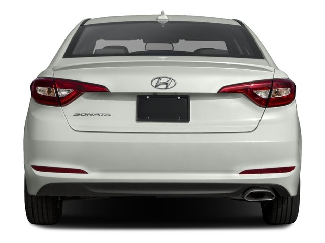 2017 Hyundai Sonata Base Price 2.4L PZEV Pricing rear view