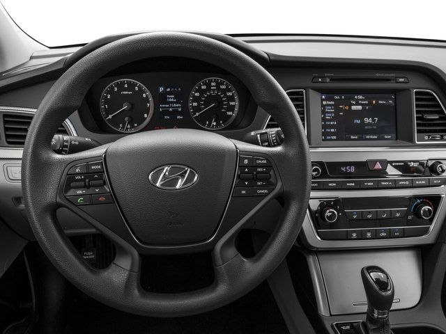2017 Hyundai Sonata Base Price 2.4L PZEV Pricing driver's dashboard