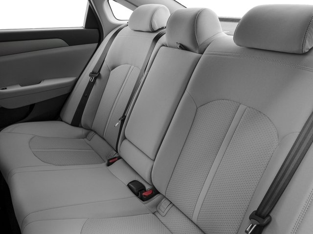 2017 Hyundai Sonata Base Price 2.4L PZEV Pricing backseat interior