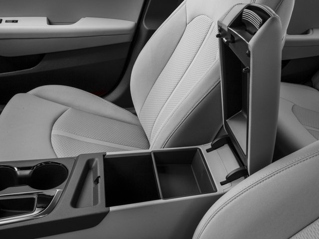 2017 Hyundai Sonata Base Price 2.4L PZEV Pricing center storage console