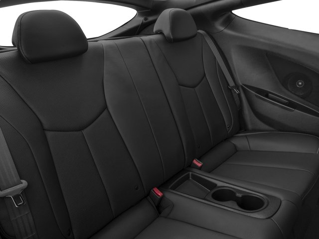 2017 Hyundai Veloster Pictures Veloster Turbo Manual photos backseat interior