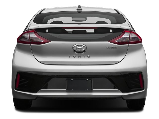 2017 Hyundai Ioniq Electric Pictures Ioniq Electric Limited Hatchback photos rear view