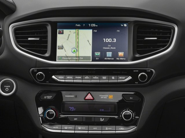 2017 Hyundai Ioniq Electric Pictures Ioniq Electric Limited Hatchback photos stereo system