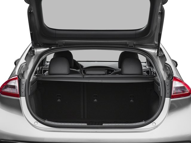 2017 Hyundai Ioniq Electric Pictures Ioniq Electric Limited Hatchback photos open trunk