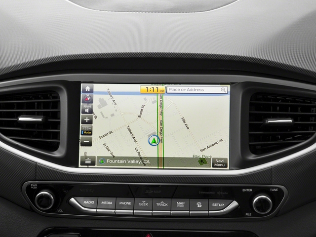 2017 Hyundai Ioniq Electric Pictures Ioniq Electric Limited Hatchback photos navigation system