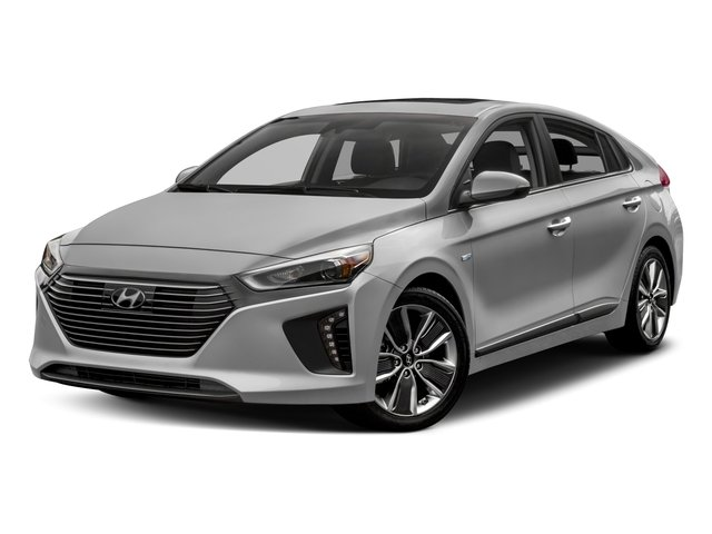 2017 Hyundai Ioniq Hybrid Base Price Limited Hatchback Pricing side front view