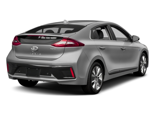 2017 Hyundai Ioniq Hybrid Base Price Limited Hatchback Pricing side rear view