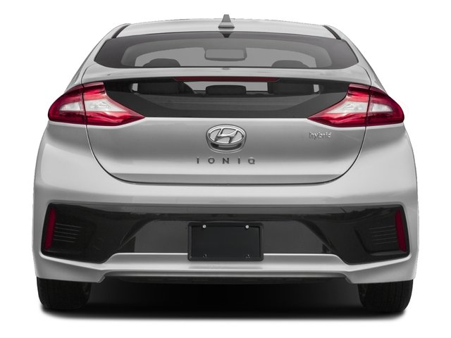 2017 Hyundai Ioniq Hybrid Base Price Limited Hatchback Pricing rear view
