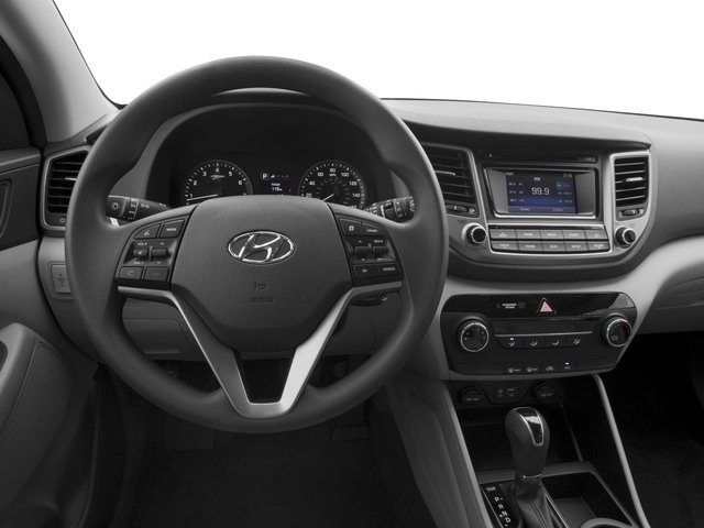 2017 Hyundai Tucson Base Price Night FWD Pricing driver's dashboard