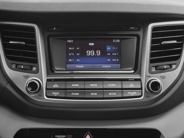2017 Hyundai Tucson Base Price Night FWD Pricing stereo system