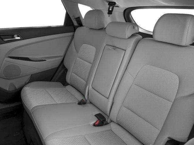 2017 Hyundai Tucson Base Price Night FWD Pricing backseat interior