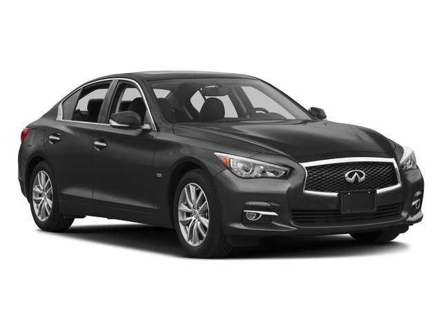 2017 INFINITI Q50 Prices and Values Sedan 4D 3.0T Premium AWD V6 Turbo side front view