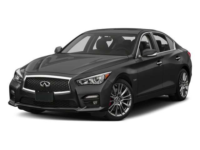 2017 INFINITI Q50 Prices and Values Sedan 4D 3.0T Red Sport V6 Turbo side front view