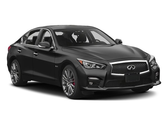 2017 INFINITI Q50 Prices and Values Sedan 4D 2.0T Sport I4 Turbo side front view