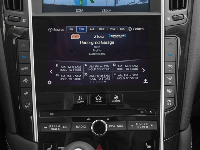 2017 INFINITI Q50 Hybrid Pictures Q50 Hybrid AWD photos stereo system