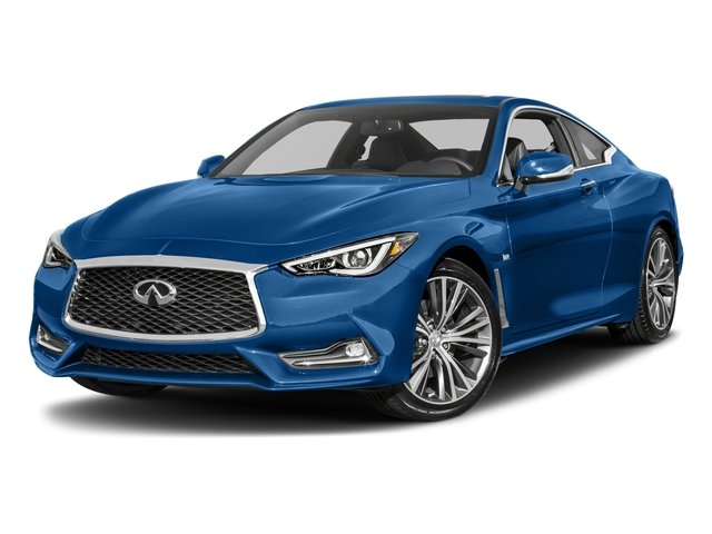 2017 INFINITI Q60 Base Price Red Sport 400 AWD Pricing side front view