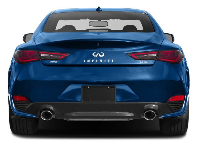 2017 INFINITI Q60 Base Price Red Sport 400 AWD Pricing rear view