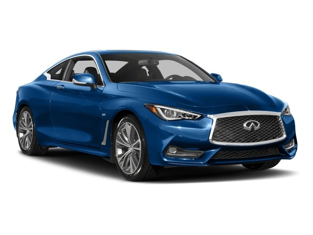 2017 INFINITI Q60 Pictures Q60 Coupe 2D 3.0T Red Sport photos side front view