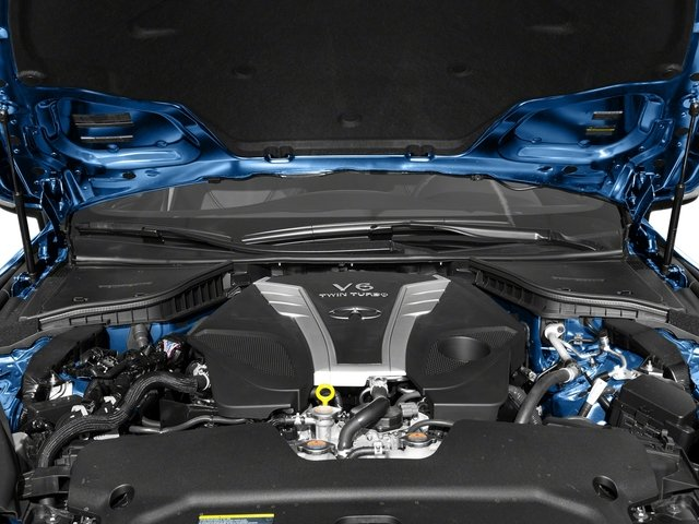 2017 INFINITI Q60 Pictures Q60 2.0t Premium RWD photos engine