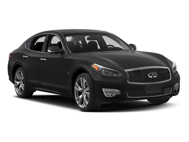 2017 INFINITI Q70 Prices and Values Sedan 4D V6 side front view