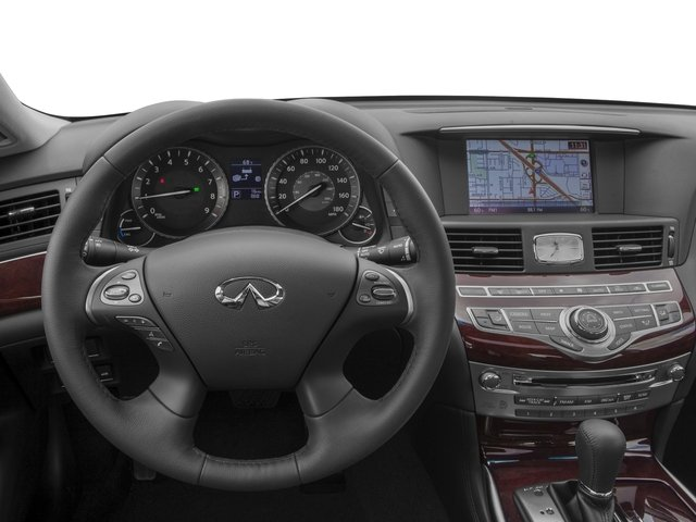 2017 INFINITI Q70 Hybrid Prices and Values Sedan 4D V6 Hybrid driver's dashboard
