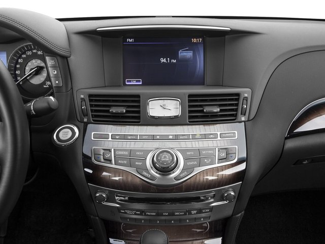 2017 INFINITI Q70L Base Price 3.7 AWD Pricing stereo system
