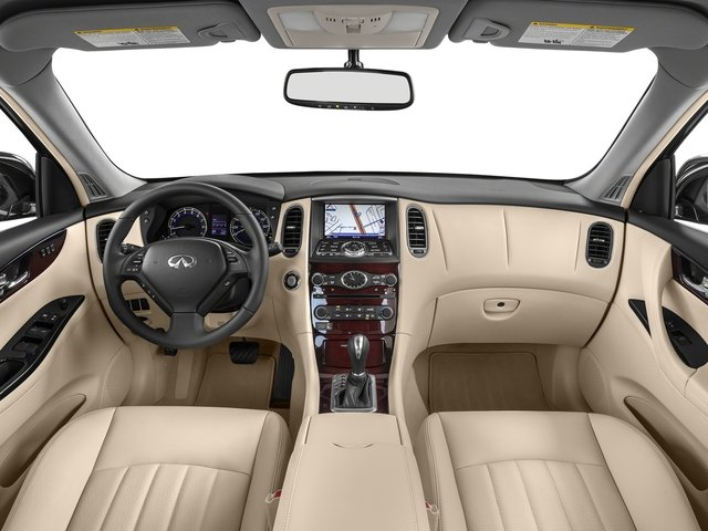 2017 INFINITI QX50 Base Price AWD Pricing full dashboard