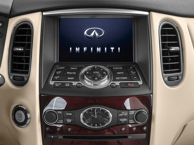 2017 INFINITI QX50 Base Price AWD Pricing stereo system