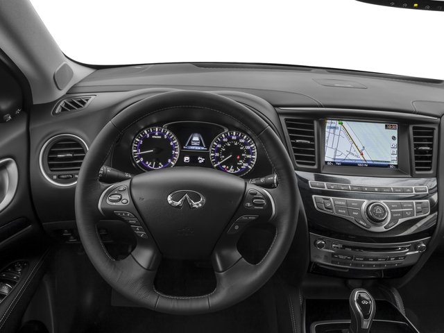2017 INFINITI QX60 Base Price FWD Pricing driver's dashboard