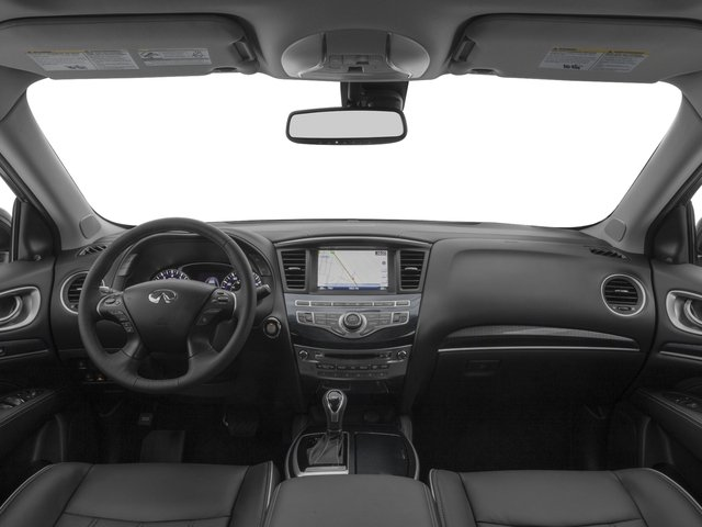 2017 INFINITI QX60 Pictures QX60 Utility 4D 2WD V6 photos full dashboard