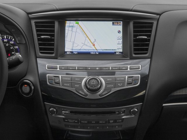 2017 INFINITI QX60 Base Price FWD Pricing stereo system
