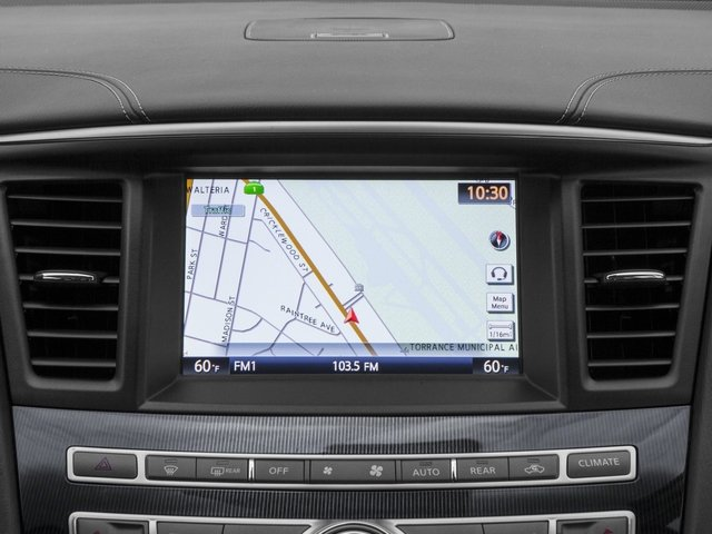 2017 INFINITI QX60 Base Price FWD Pricing navigation system