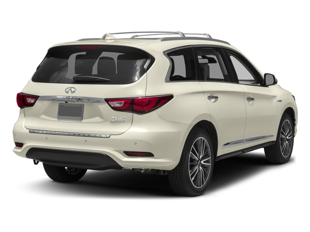 2017 INFINITI QX60 Hybrid Prices and Values Utility 4D Hybrid AWD I4 side rear view