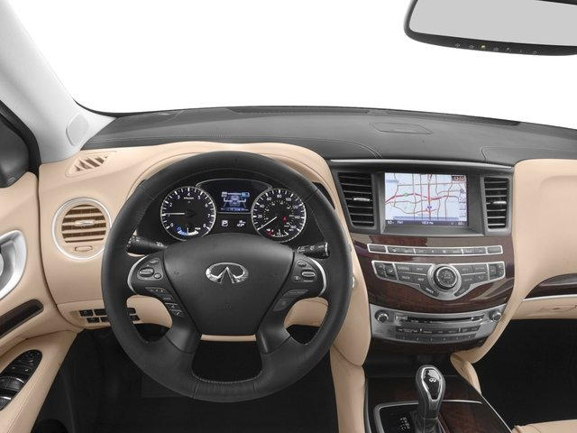 2017 INFINITI QX60 Hybrid Prices and Values Utility 4D Hybrid AWD I4 driver's dashboard