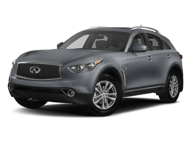 2017 INFINITI QX70 Base Price RWD Pricing side front view