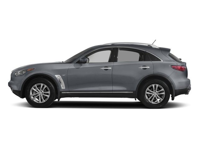 2017 INFINITI QX70 Base Price RWD Pricing side view