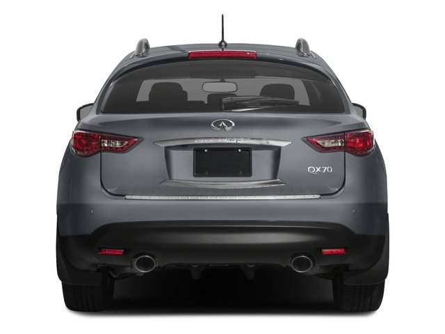 2017 INFINITI QX70 Prices and Values Utility 4D 2WD V6 rear view