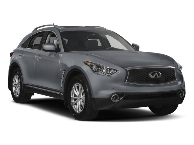 2017 INFINITI QX70 Pictures QX70 Utility 4D AWD V6 photos side front view
