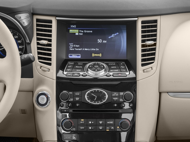 2017 INFINITI QX70 Base Price RWD Pricing stereo system