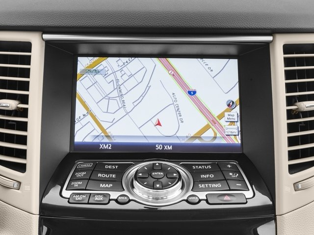2017 INFINITI QX70 Base Price RWD Pricing navigation system