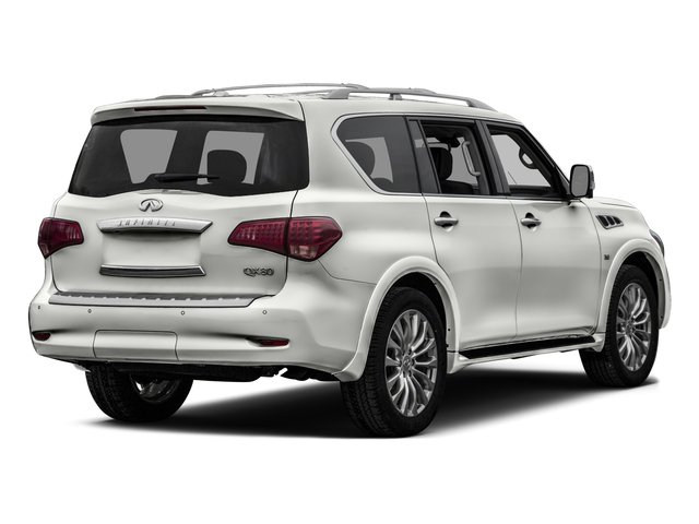 2017 INFINITI QX80 Prices and Values Utility 4D 2WD V8 side rear view
