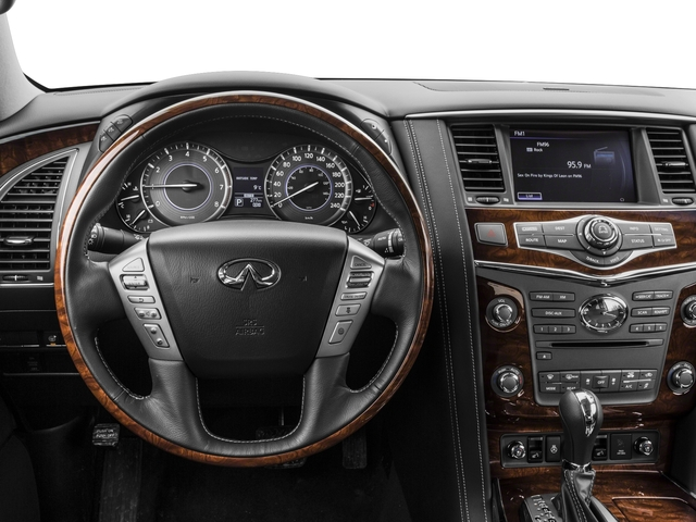 2017 INFINITI QX80 Prices and Values Utility 4D 2WD V8 driver's dashboard