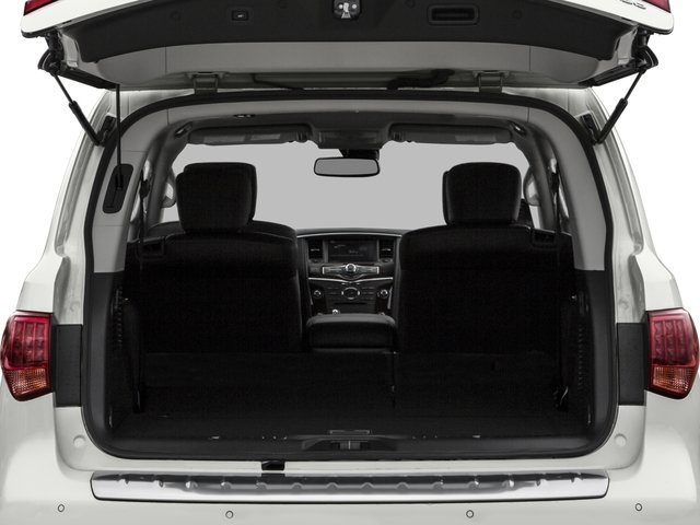 2017 INFINITI QX80 Prices and Values Utility 4D 2WD V8 open trunk