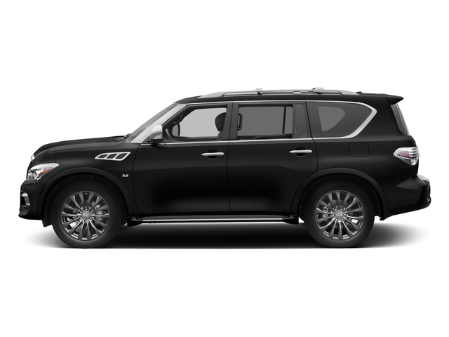 2017 INFINITI QX80 Pictures QX80 Utility 4D Limited AWD V8 photos side view