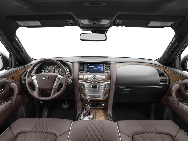 2017 INFINITI QX80 Pictures QX80 Utility 4D Limited AWD V8 photos full dashboard