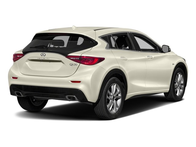 2017 INFINITI QX30 Pictures QX30 Luxury FWD *Ltd Avail* photos side rear view