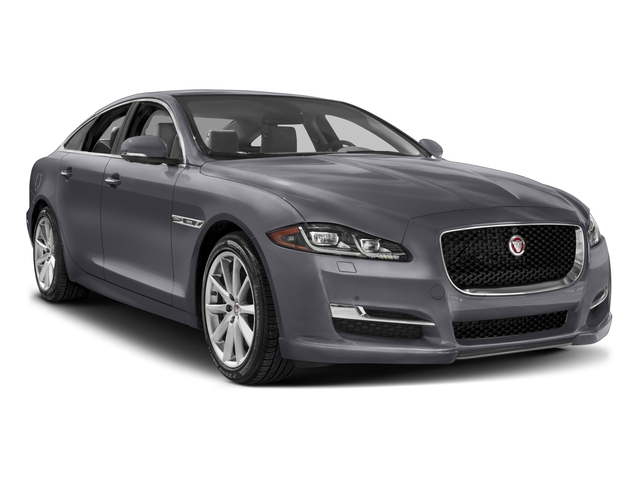 2017 Jaguar XJ Prices and Values Sedan 4D R-Sport AWD V6 Supercharged side front view